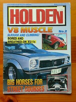 Holden V8 muscle magazine no 2
