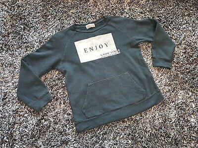 Immaculate - Zara Green Slogan Boys Sweatshirt Jumper - Age 7 Years