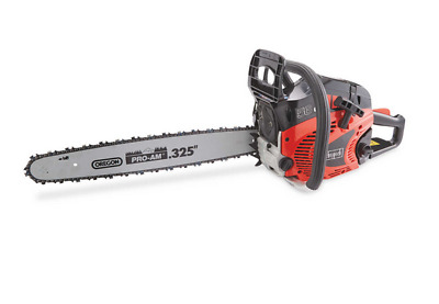 "Scheppach Petrol Chainsaw, 20"" bar, 56cc The Choice of Professionals"
