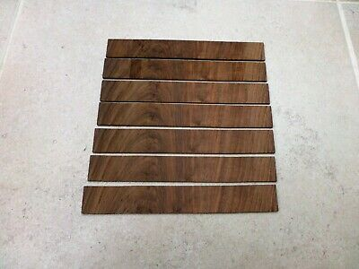 Walnut veneer crossbanded for antique furniture & Longcase clocks cut 2 mm thick