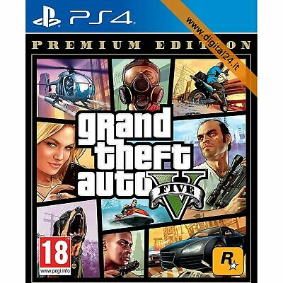 Grand Theft Auto V (GTA 5) Premium Edition - Special - PlayStation 4