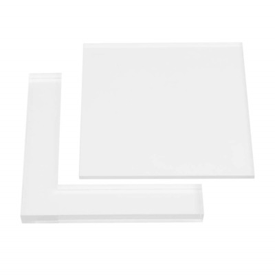 2pcs Stamp Positioner Kit Rubber Acrylic Stamp Coloring Board Locating Clear DIY