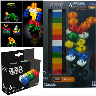 Base Lightstax £22.99 FREE P/&P Light Stax Set 42 Bricks