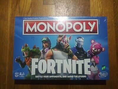 Fortnite MONOPOLY Edition Board Game Original sealed