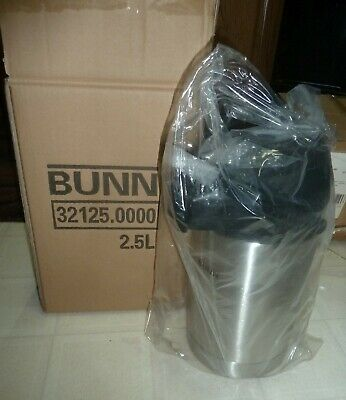 BUNN 32125 Stainless Steel Lined 2.5 Liter Airpot