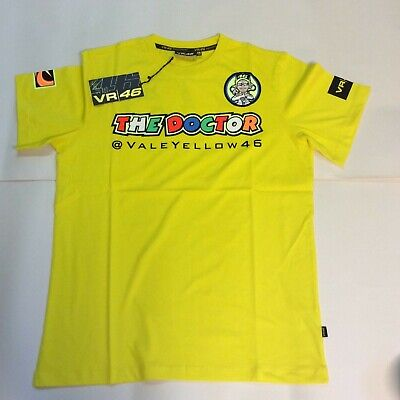 SALE PRICE OFFICIAL MotoGP VR46 Merchandise Rossi The Doctor T-Shirt Mens Large
