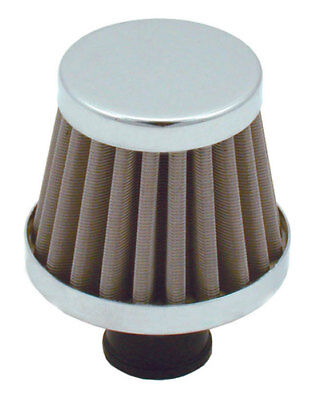 3 In Spectre 42879 Valve Cover Breather Filter Outer Diameter 2.75 In Tall