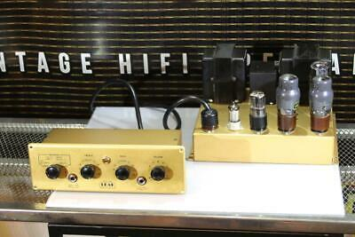 LEAK TL10 Point One VALVE Power AMP/Preamp KT61 EXCEPTIONAL WORKING VIDEO