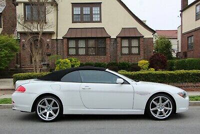 2005 BMW 6-Series 645Ci 2dr Convertible 2005 BMW 6 Series 645Ci 2dr Convertible Automatic 6-Speed RWD V8 4.4L Gasoline