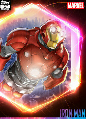 Topps Marvel Collect Iron Man ULTIMATE UNIVERSE 1st Printing [DIGITAL CARD] 250c