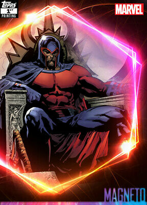 Topps Marvel Collect Magneto ULTIMATE UNIVERSE 1st Printing [DIGITAL CARD] 250cc