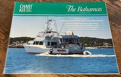 Bahamas Chart Kit Loran-c Island Cruising 4th. 1991
