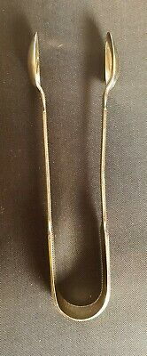 Pair Of Art Deco Silver Plated Sheffield Sugar Tongs    1480456/458