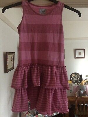 Girl's Next Pink Dress Aged 8 Years