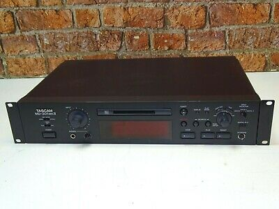 Tascam MD-301 MKII Professional Rack Mount MiniDisc Recorder Player