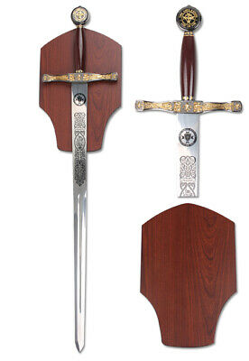 King Arthur Excalibur Crusader Knights Long Sword Movie Replica