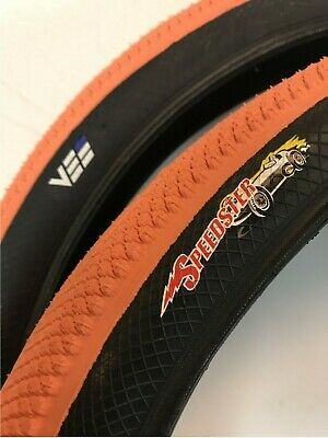 """BMX Tire from Vee 20 x 1.75/"""" Speedster Foldable Tyre suit 406mm S-Wall Red"""