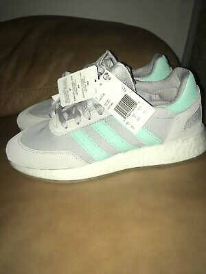 Details about Adidas I 5923 Boost (Light Solid GreyClear MintCrystal) Women's Shoes D97349
