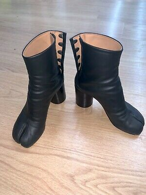 BNWT Black Neoprene Over the Knee Boots Boutique
