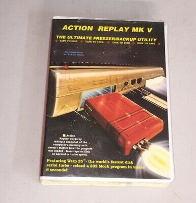 C64 Action Replay V - Fast Load cartridge - Commodore 64