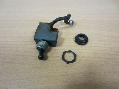 Singer 221 Featherweight Sewing Machine Light Lamp Switch Assembly Vtg Original