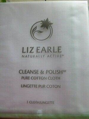 Liz Earle Cleanse and Polish Pure Cotton Cloth Brand New & Sealed