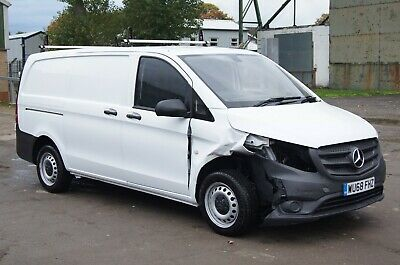 2018 (68) Mercedes-Benz Vito 111 CDI MWB 1.6 Turbo Diesel 6 Speed Manual Panel V