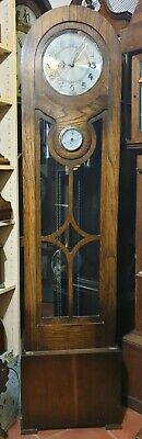 Bow Top 8 Day Art Deco Westminster Chiming Grandfather Clock, delivery arranged