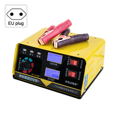 12/24V 260W Electric Car Battery Charger LCD Intelligent Lead Pulse Repair Truck