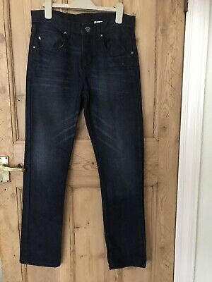 Bundle 2 X Age 14 Years Blue Jeans  Adjustable Waist Next & H&M VGC