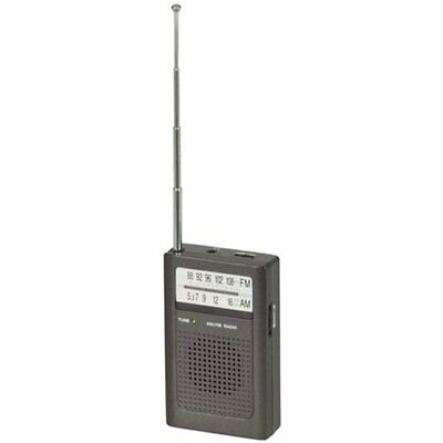 TechBrands Portable AM/FM Transistor Radio
