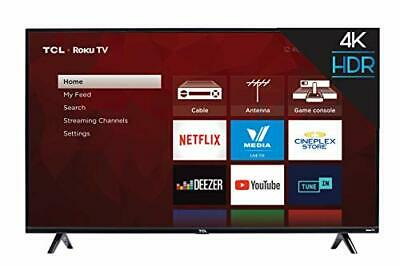 """TCL 50S425-CA 4K Ultra HD Smart LED Television (2019), 50"""" (50 inches
