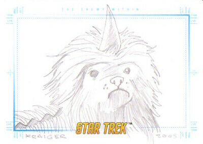 Star Trek Art & Images Animated - SKETCH by KRAIGER The Enemy Within