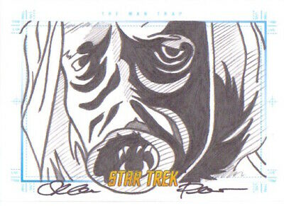 Star Trek Art & Images Animated - SKETCH by SEAN PENCE The Man Trap
