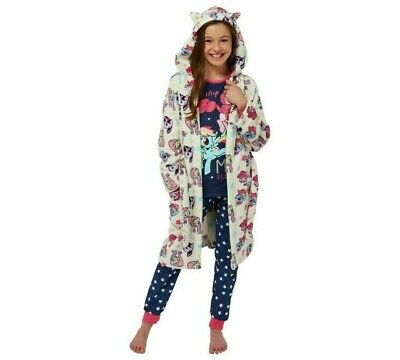***NEW*** My Little Pony Girls PJ's + Fleece Hooded Robe/Dressing Gown. 11-12yrs
