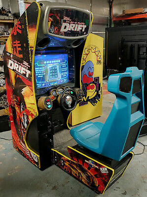 FAST AND FURIOUS DRIFT Arcade Sit Down Driving Games! Rebuilt CPU! WORKS GREAT!