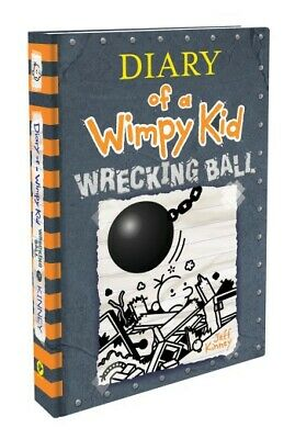 Wrecking Ball (Diary of a Wimpy Kid Book 14) Hardcover, By Author Jeff Kinney