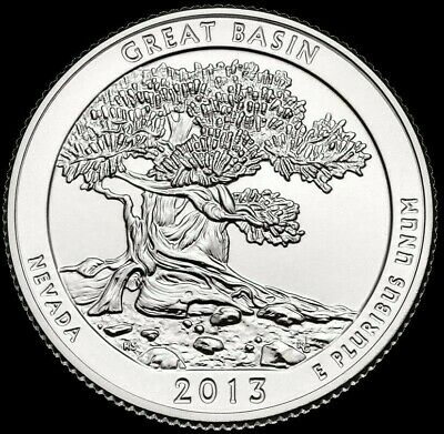 2013 D Great Basin National Park Quarter   **FREE SHIPPING**