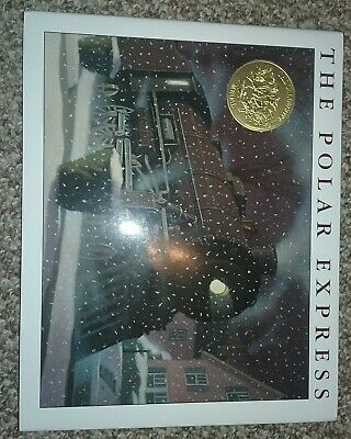 The polar express book by Chris Van Allsburg hardcover with wrap
