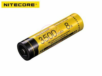 Nitecore NL1835HP 18650 Protected Rechargeable Battery EC23 HC33 TM28 MH23 x1