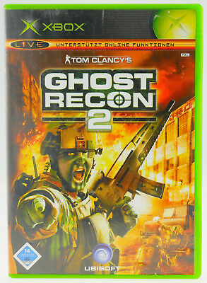 Tom Clancys Ghost Recon 2 | Microsoft X-Box XBox | komplett in OVP | gut