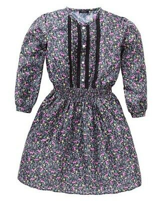 Girls Ditsy Floral Tunic Top Age 11-12 BNWT Perfect Xmas Gift/ Partywear