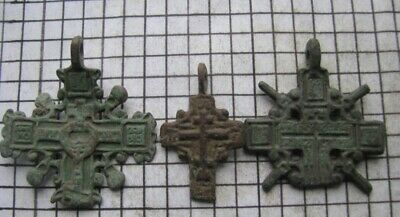 3 ancient crosses of 16-17 centuries