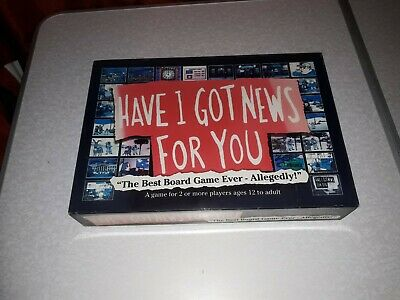 """""""Have I Got News For You"""", (The best) Board Game (Ever!-Allegedly!) 2005 BBC TV"""