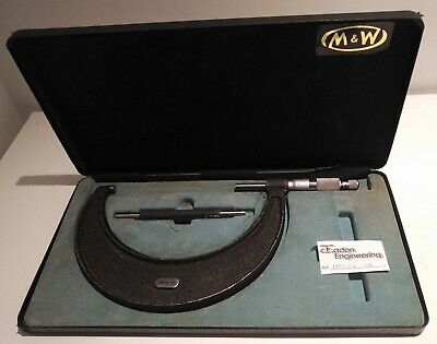 Moore & Wright 125 - 150mm External Micrometer, No.966M.