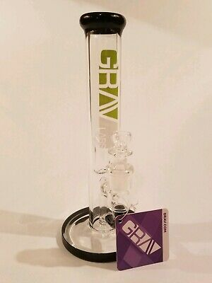 "8"" Grav Labs Straight Tube Hookah Water Pipe"
