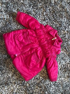 Good Condition - No Added Sugar Pink Raspberry Coat - 18 Months