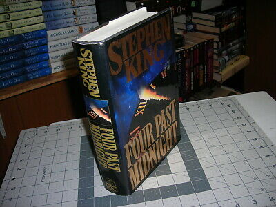 *First Edition*FOUR PAST MIDNIGHT Stephen King 1990 HC/DJ 1st Printing VG cond