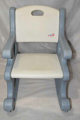 Fantastic Vintage Little Tikes Rocking Chair Blue White Victorian Gmtry Best Dining Table And Chair Ideas Images Gmtryco