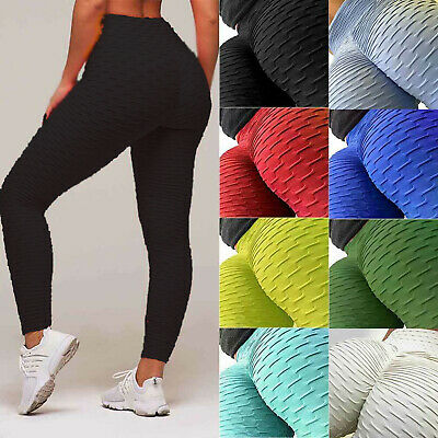 New Womens Fleece Lined Solid Colors Winter Thick Thermal Warm Leggings Stretchy